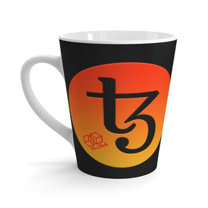 Tezos Baking Tezzies Sun theme - Latte mug