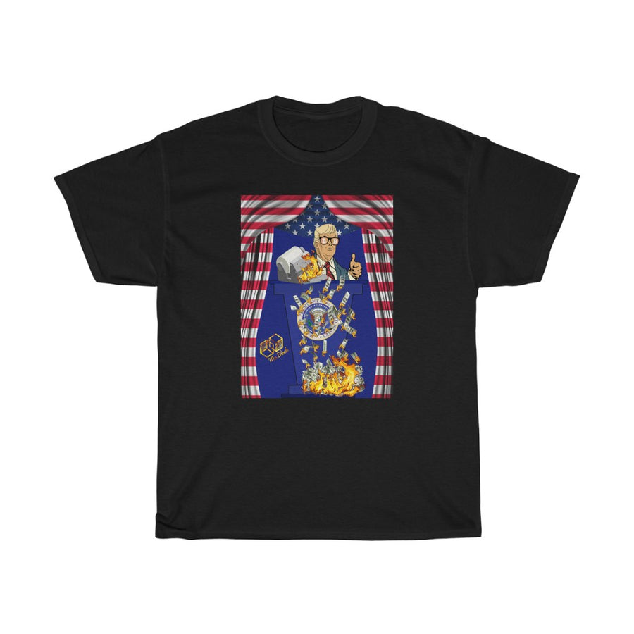 Trump for Bitcoin (Moneyprinter go Brr) - Unisex Tee