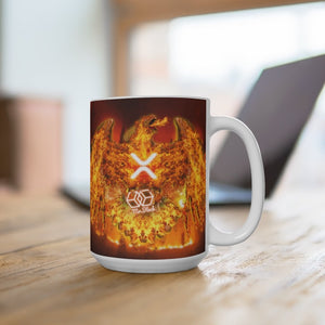 "XRP ""The Pheonix"" -Mug 15oz - Mr. Block Crypto Store"