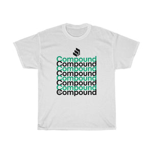 Compound Defi (COMP)- Unisex Heavy Cotton Tee - Mr. Block Crypto Store