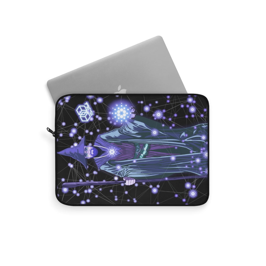 Charles Hoskinson, The Cardano Wizard (ADA) - Laptop Sleeve
