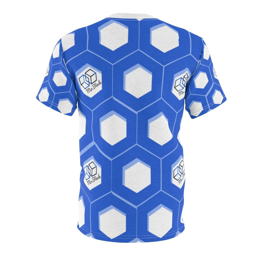 Chainlink- Unisex AOP Cut & Sew Tee - Mr. Block Crypto Store