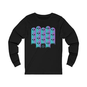 Lend Defi Ghost theme (aave) - Unisex Long Sleeve Tee