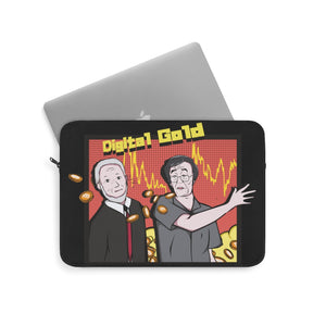Satoshi & Peter Schiff (Digital Gold) - Laptop Sleeve
