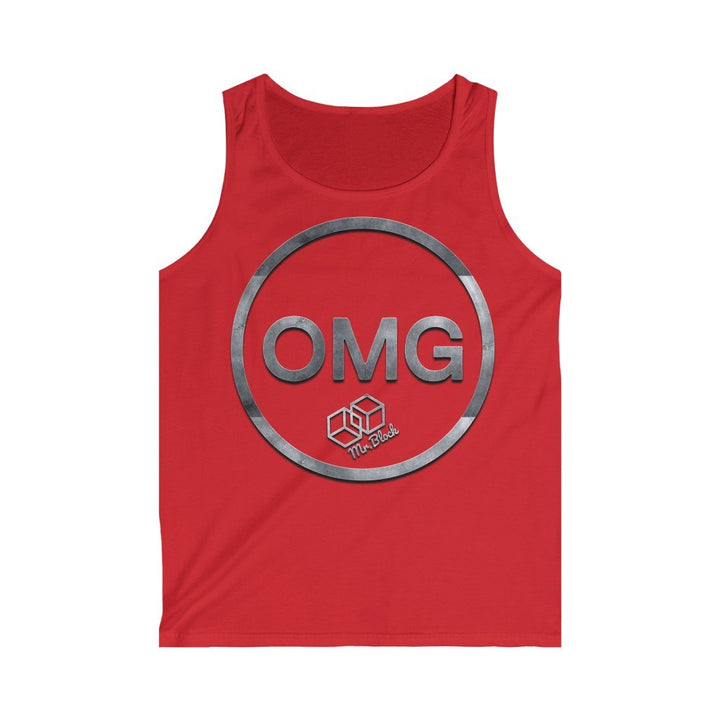 OMG Network Crypto - Men's Tank Top - Mr. Block Crypto Store