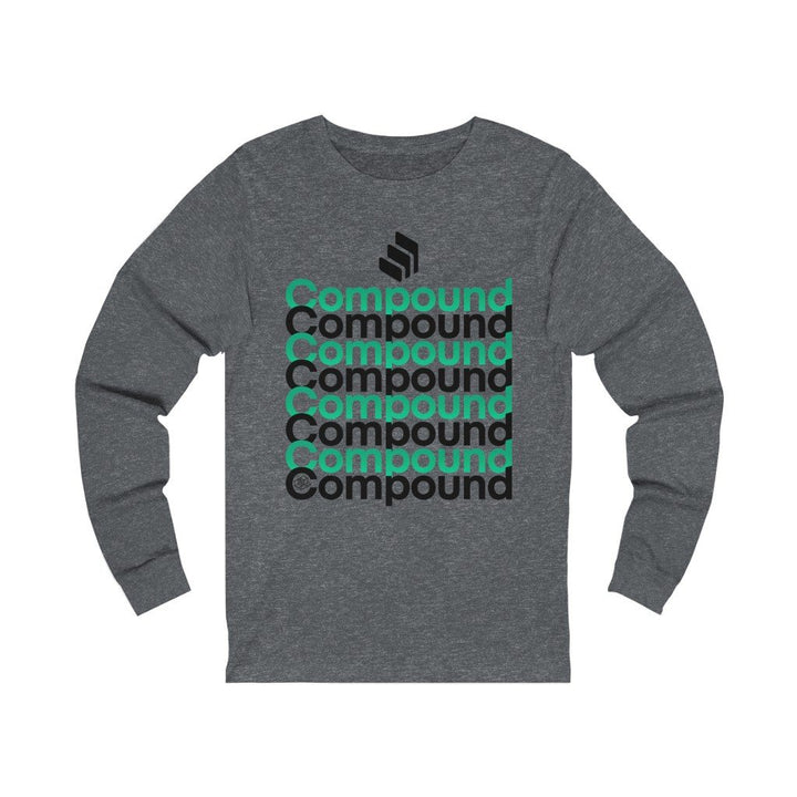 Compound Defi (COMP)- Unisex Jersey Long Sleeve Tee - Mr. Block Crypto Store