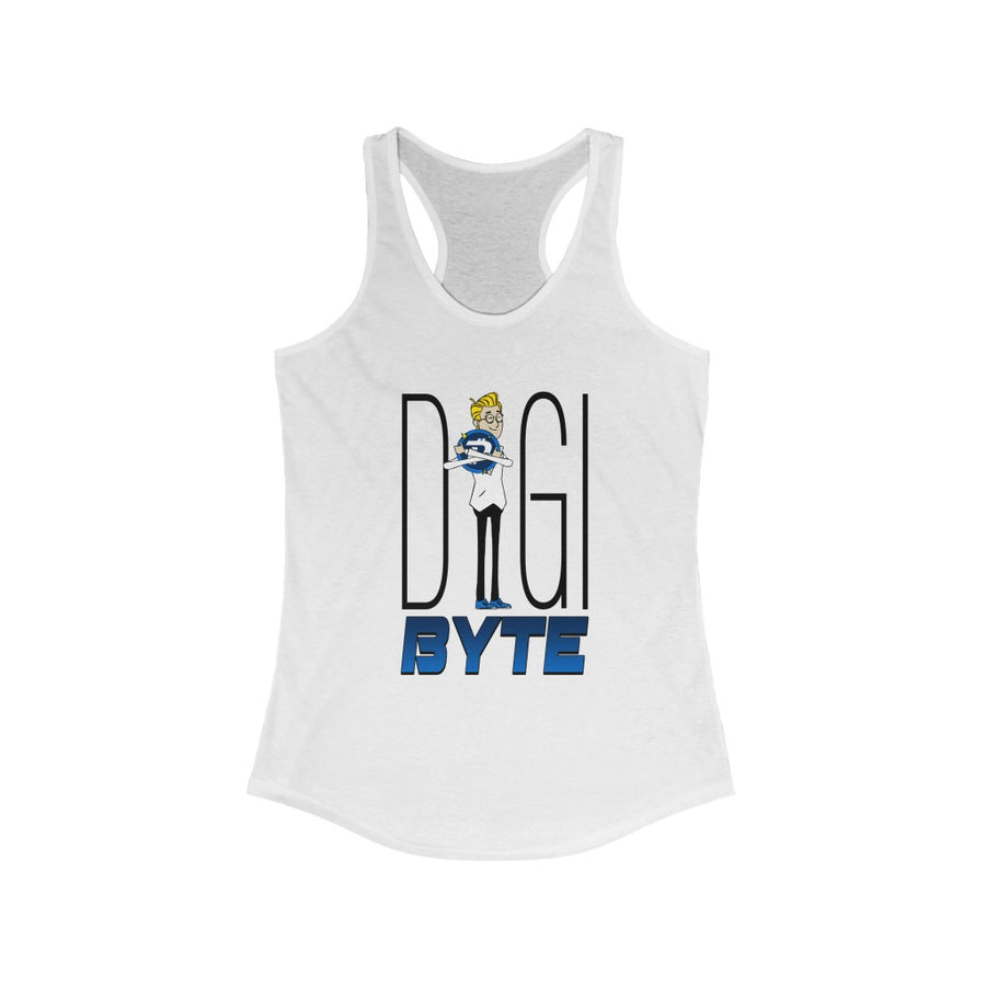 Digibyte Hugging DGB Love - Women's Crypto Tank