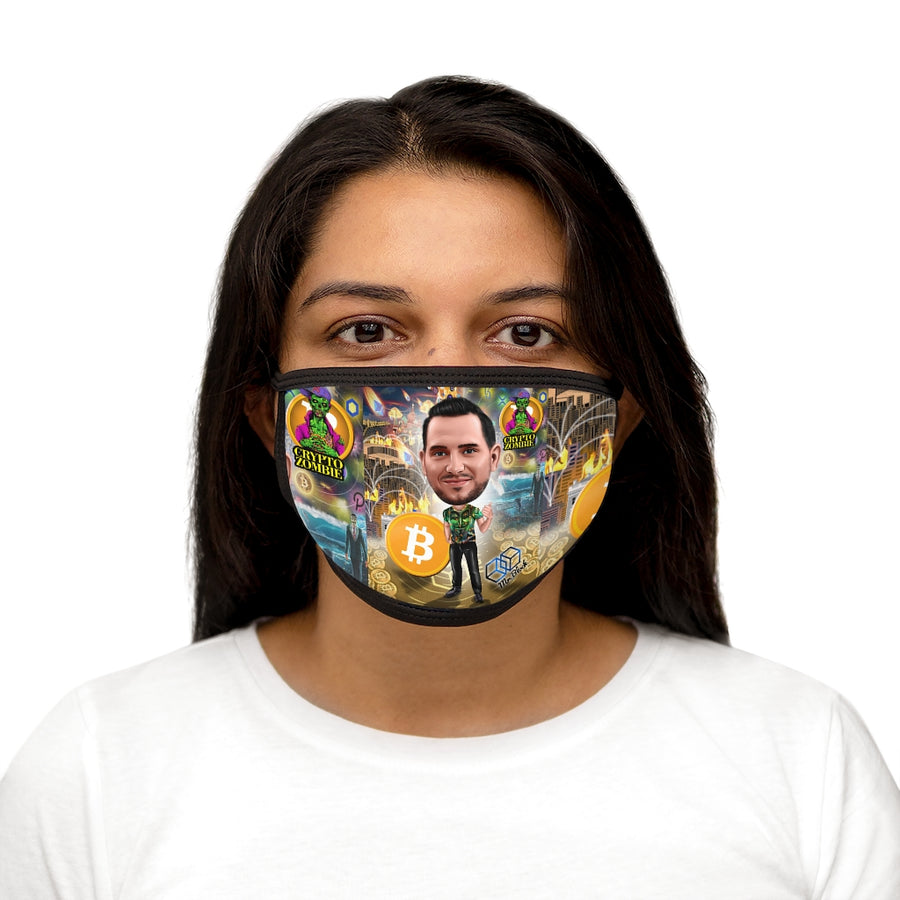 The Crypto Zombie - Bitcoin BTC Face Mask