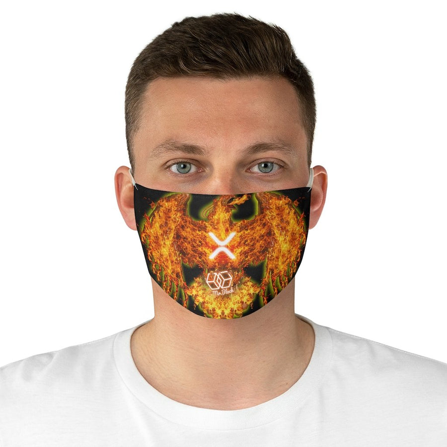 "XRP ""The Pheonix"" - Face Mask - Mr. Block Crypto Store"