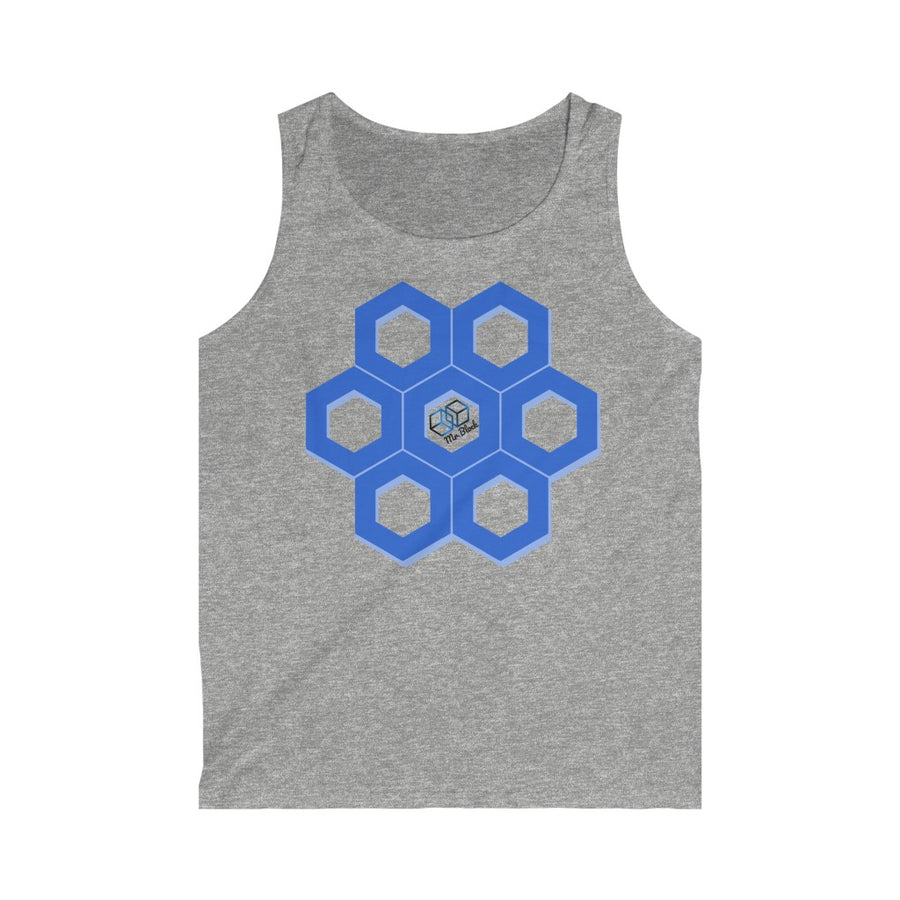 Chainlink Scattered Logo - Men's Tank Top