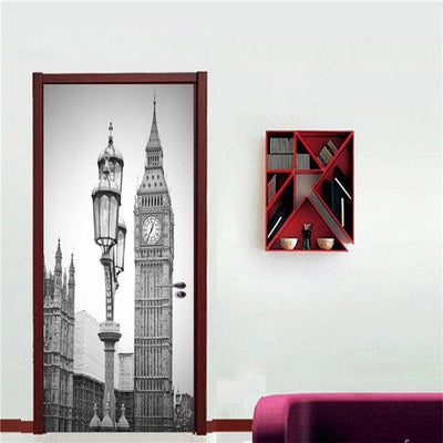 Stickers Porte Big Ben