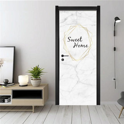 Stickers Porte Sweet Home
