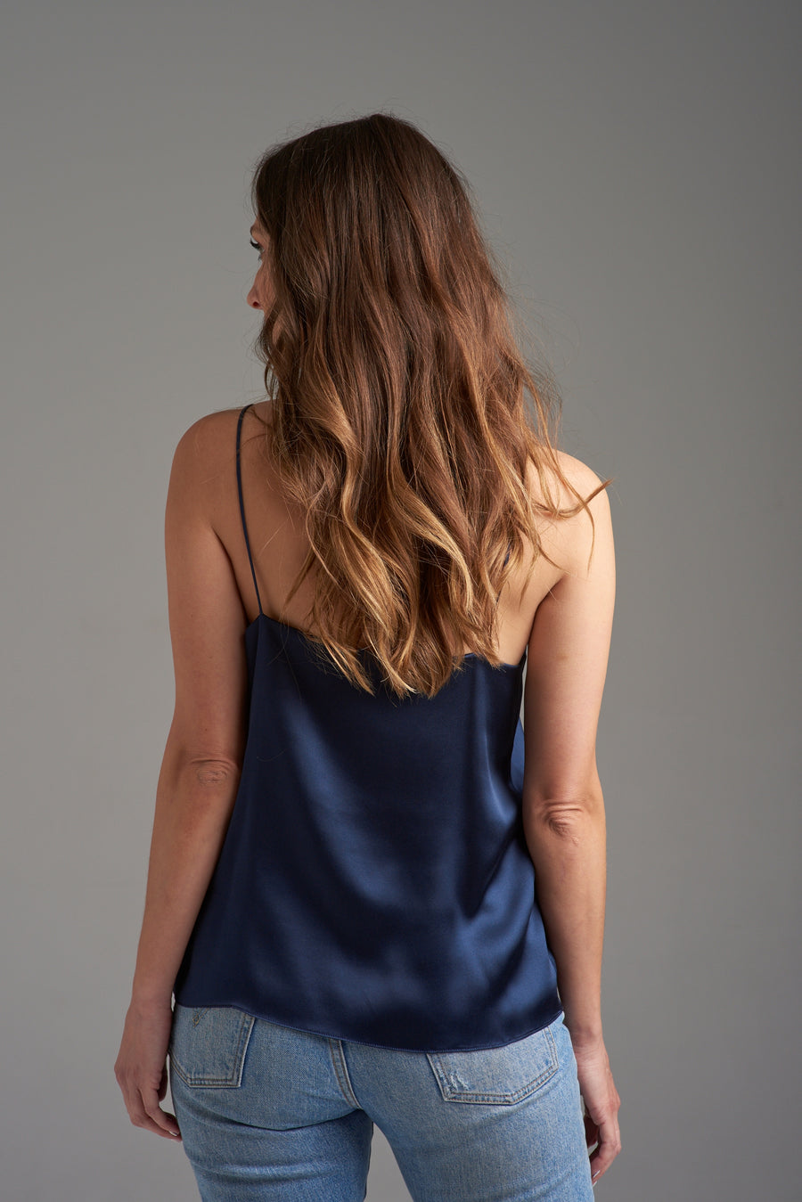 BELLE FRENCH NAVY CAMISOLE
