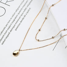 Load image into Gallery viewer, Pluie gold plated sterling silver necklace
