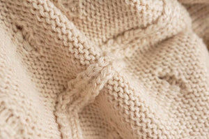 Assam Knit top - Cream
