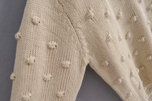 Load image into Gallery viewer, Assam Knit top - Cream