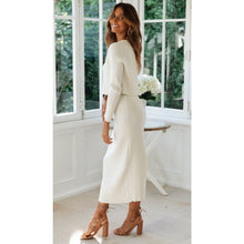 Load image into Gallery viewer, Amber Knit Skirt - White