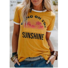 Load image into Gallery viewer, Bring on the sunshine Tee