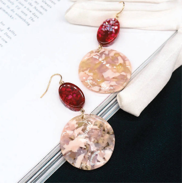 Eaile Duo-tone Earrings