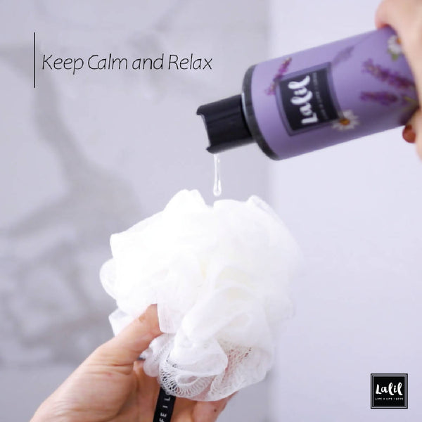 Skin Soothing Shower Gel - Keep Calm & Relax (Lavender & Chamomile)