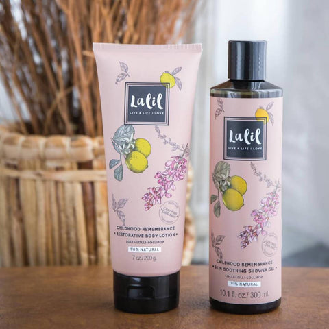 Childhood Remembrance Set - Shower Gel & Body Lotion