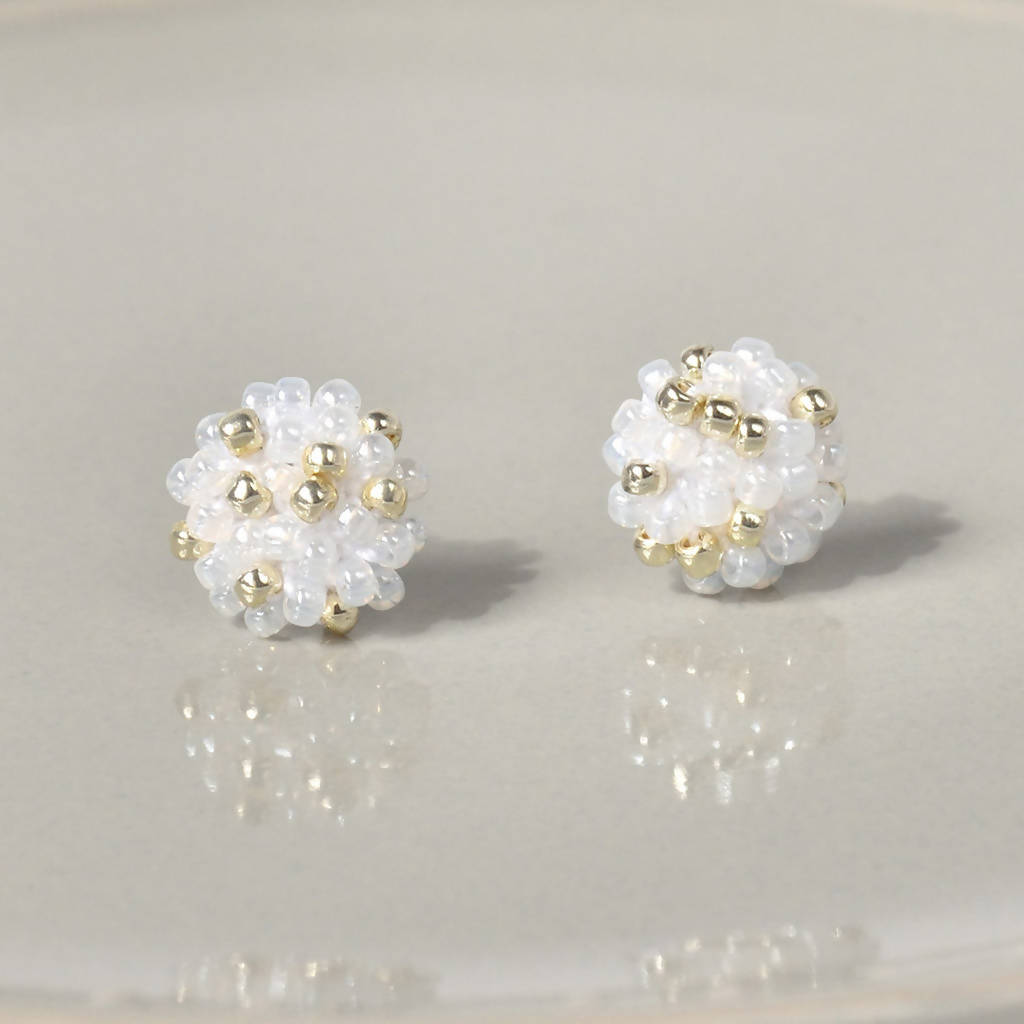 Star Dust Petite Stud Earrings