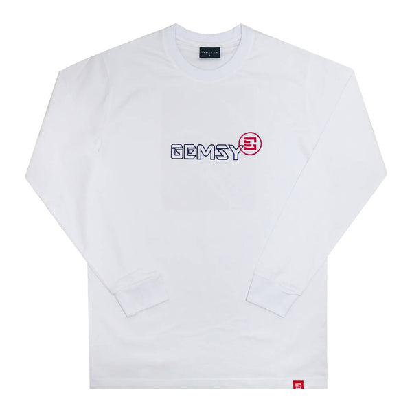 Gemsy Galería Long Sleeve T-shirt (White)