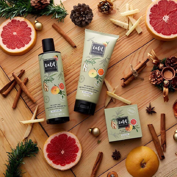 Skin Soothing Shower Gel - Oh Happy Day (Ginger & Grapefruit)