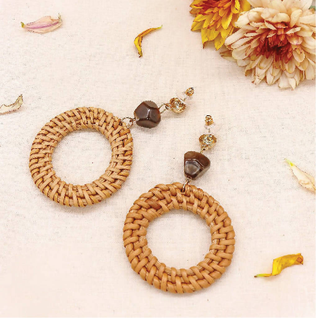 Enje Woven Earrings