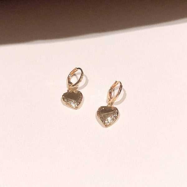 Roman's Heart Ear Ring