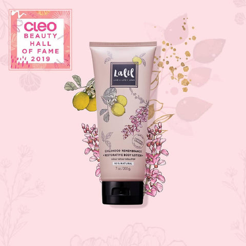 Moisturising Body Lotion - Childhood Remembrance (Lemon & Rosewood Scent)