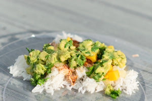 Avocado Salmon Bowls