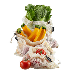 Fruit and vegetable net AWARE, M 3 pcs 12716