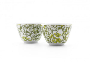 Cups Yantai Green Set of 2
