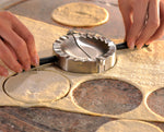 Load image into Gallery viewer, Ravioli/Dumpling Press - Stainless Steel Foldable 28490