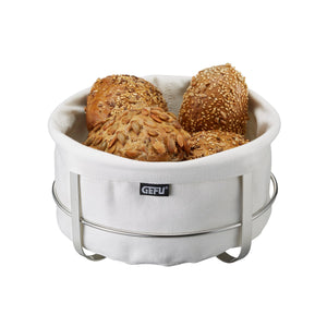 Bread Basket Round White 33660