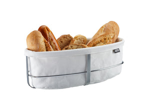 Bread Basket Oval White 33661