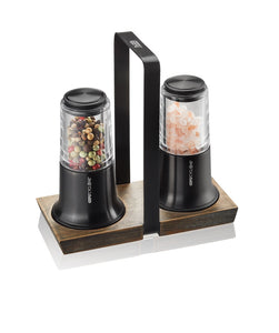 Salt and Pepper MIll Set X-PLOSION Black 34642