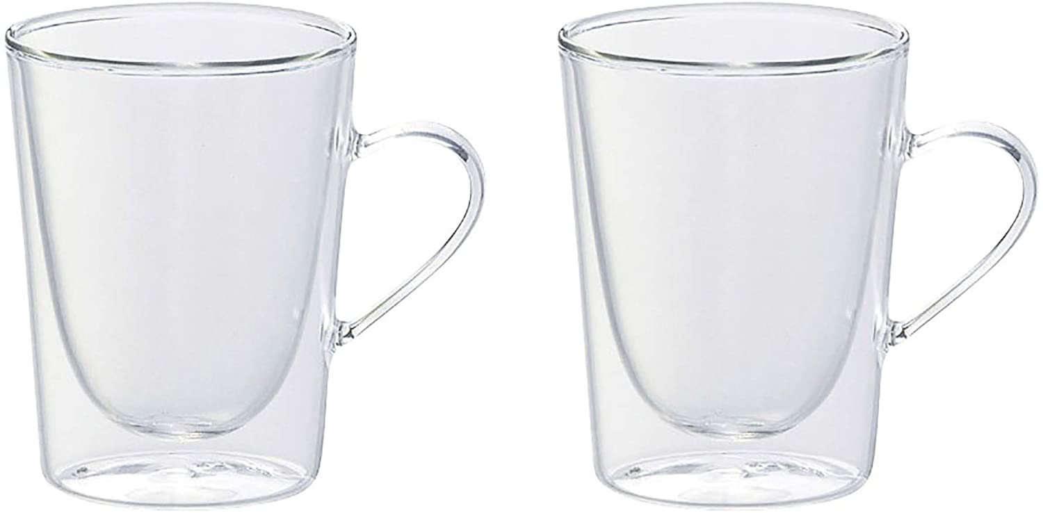 10 fl oz. Double Wall Coffee Mug - Set of 2