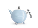 Load image into Gallery viewer, 41 fl oz Teapot SS Serene Blue BELLA RONDE