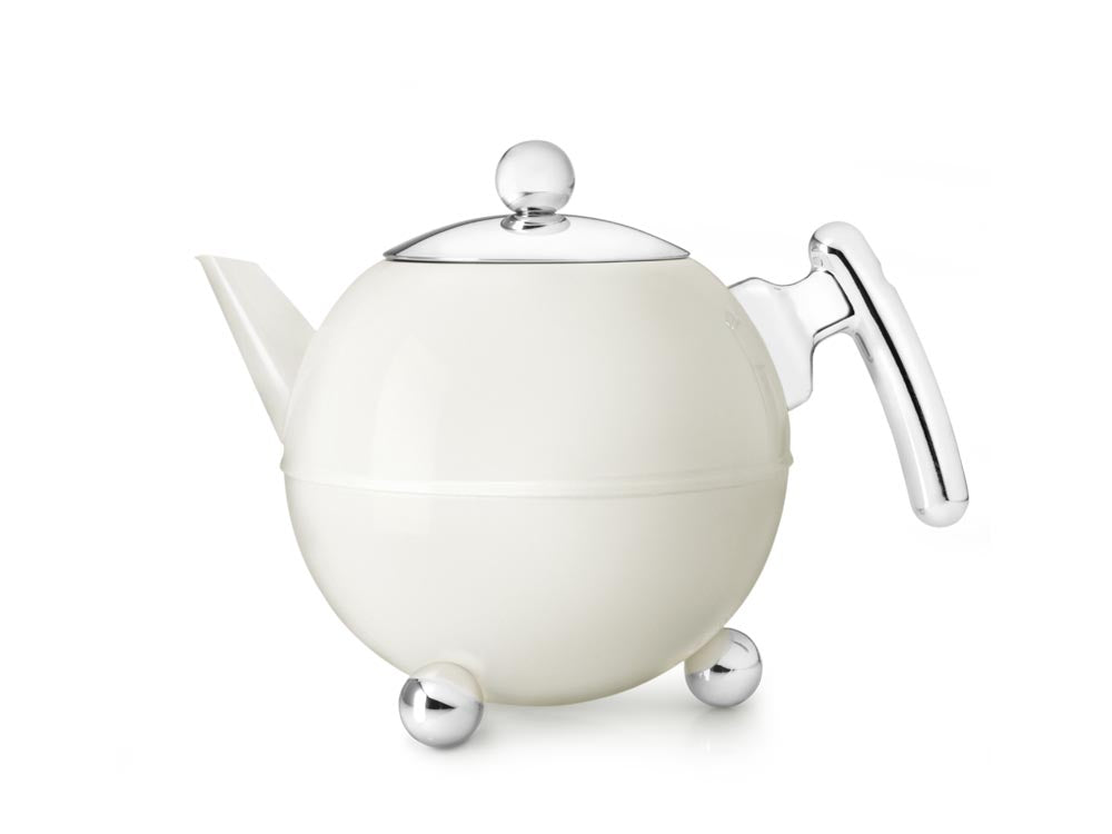 41 fl oz Teapot SS White Cloud BELLA RONDE