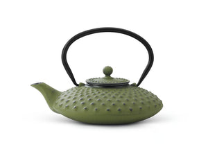 27 fl oz Teapot Cast Iron Green XILIN