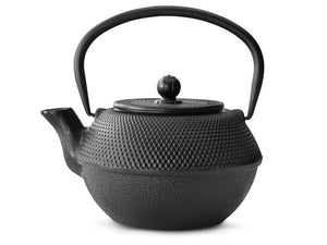 41 fl oz Teapot Cast Iron Black JANG