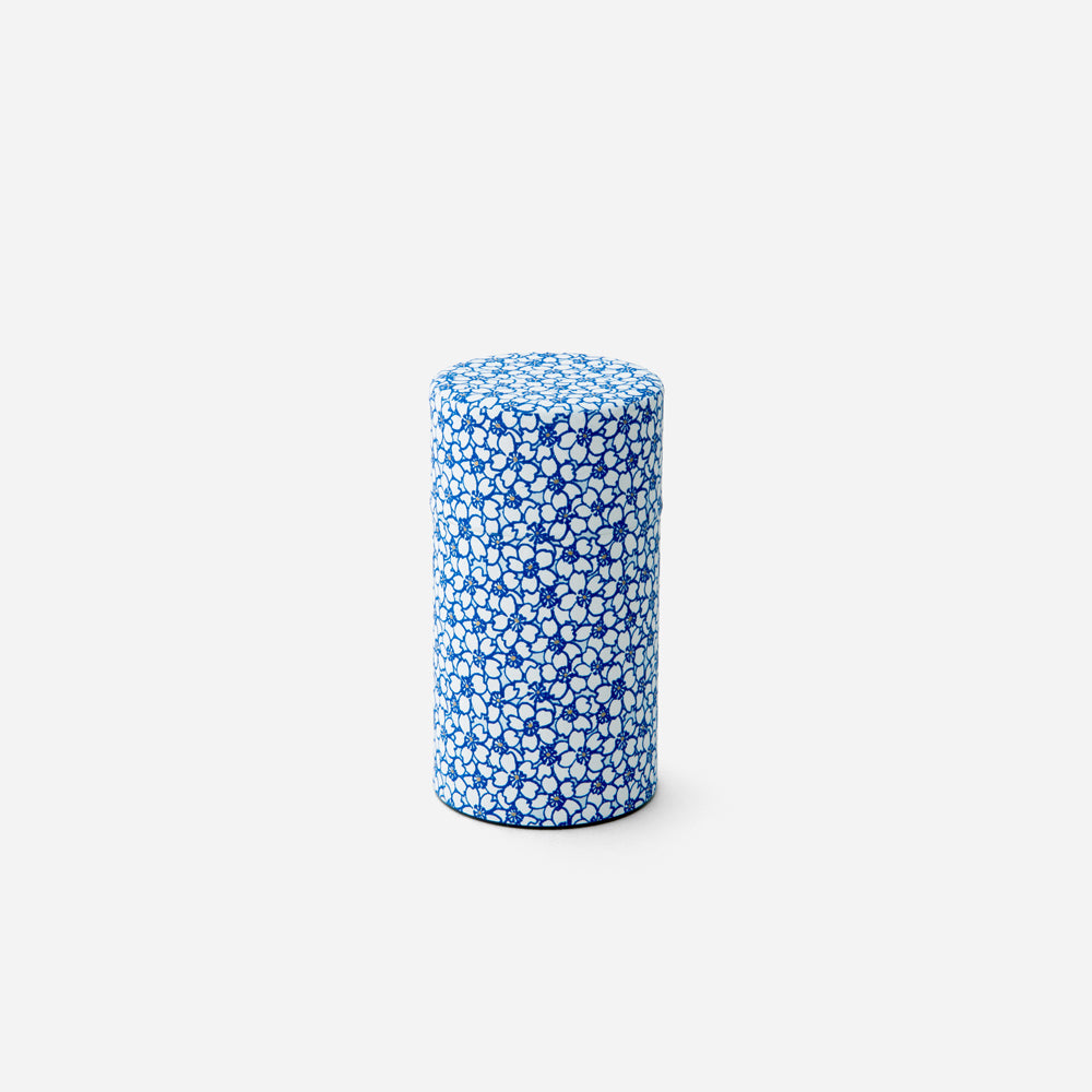 150G Sakura Kyoto Washi Paper Wrapped Tea Canister 4 oz.