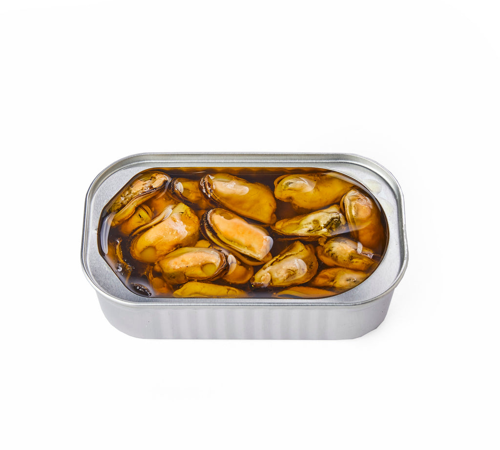 Smoked Mussels in Olive Oil