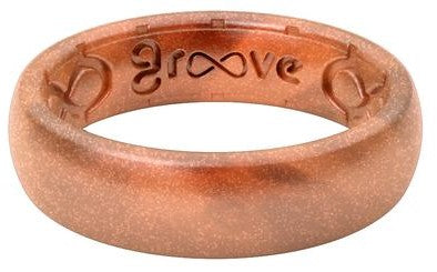 Groove Ring Thin Copper