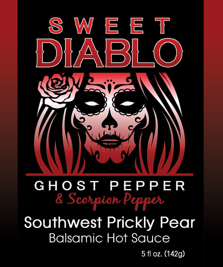 Sweet Diablo Southwest Prickly Pear Balsamic Hot Sauce
