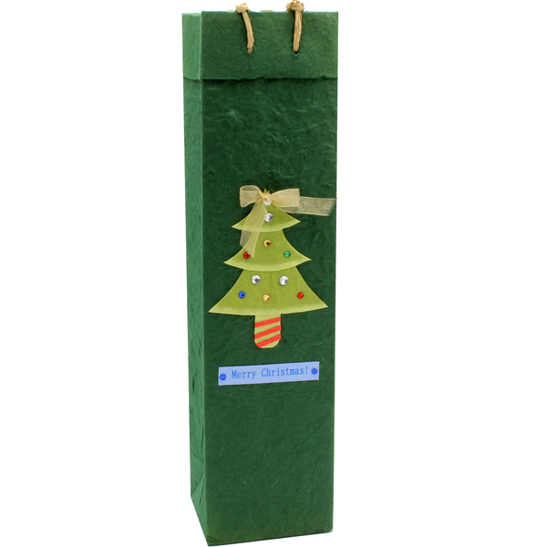 Christmas Gift Bag - Tinsel Tree
