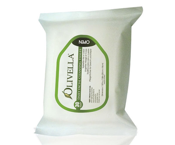 Olivella Daily Facial Cleansing Cloths