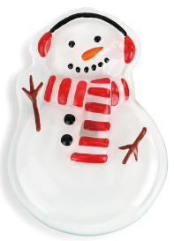 Snowman with Earmuffs Pop In